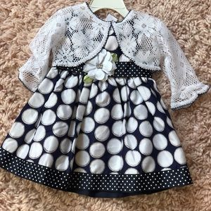 Other - 18 month dress with cropped cardigan